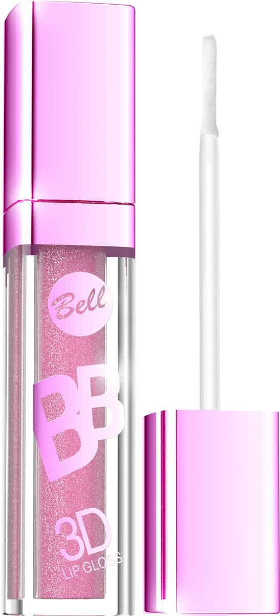 """Bell Блеск Визуально Увеличивающий Объем Губ Bb 3d Lip Gloss 6 млBlgBB006Xрустальный блеск и эффект разглаживания! Секрет действия блеска для губ заключается в формуле, содержащей """"Crystal Shine Complex"""" – маленькие частички, отражающие свет и обеспечивающие эффект 3D. Специально подобранные полимеры значительно улучшают увлажнение губ. Состав кондиционирующих компонентов увеличивает гибкость эпидермиса и гарантирует ощущение увлажненных губ. Легкая, кремовая формула не образует комочков и не склеивает губы. Цветовая палитра включает 6 модных оттенков. Тон 6"""