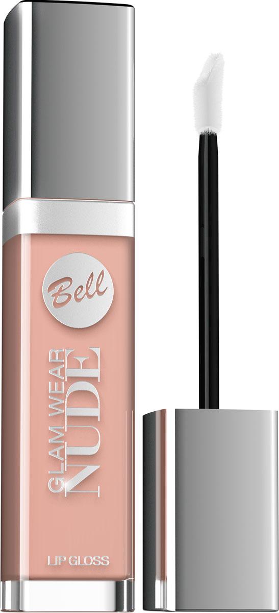 Bell Блеск для губ Кремовый Glam Wear Nude Lip Gloss Тон 2, 6 мл