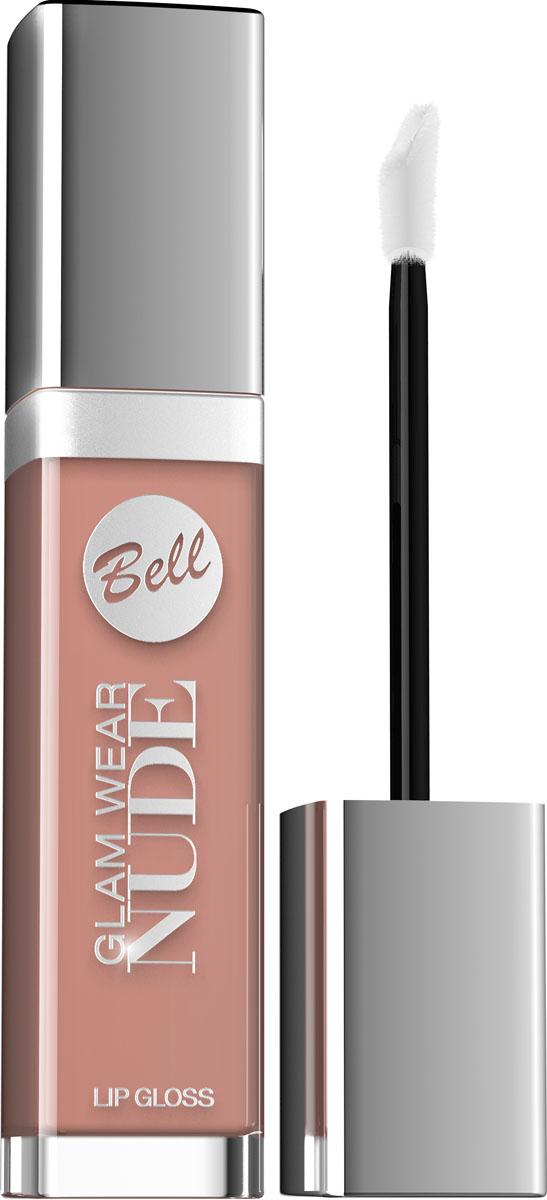 Bell Блеск для губ Кремовый Glam Wear Nude Lip Gloss 6 мл