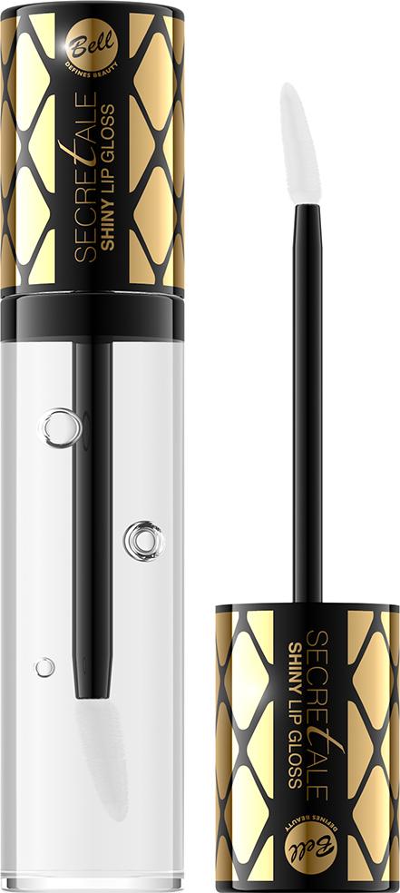 Bell Блеск для губ Увлажняющий Secretale Shiny Lip Gloss Тон 01, 6 мл