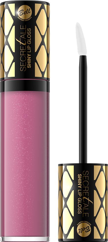 Bell Блеск для губ Увлажняющий Secretale Shiny Lip Gloss Тон 04, 6 мл