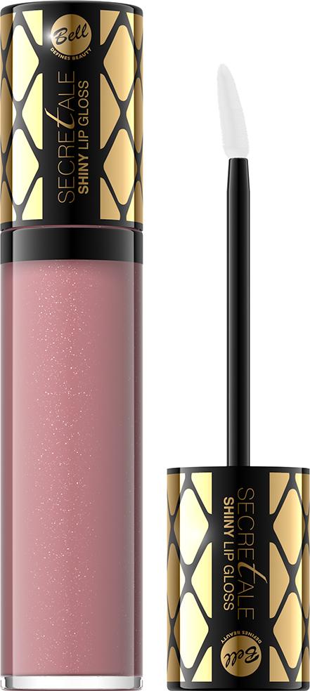 Bell Блеск для губ Увлажняющий Secretale Shiny Lip Gloss Тон 09, 6 мл