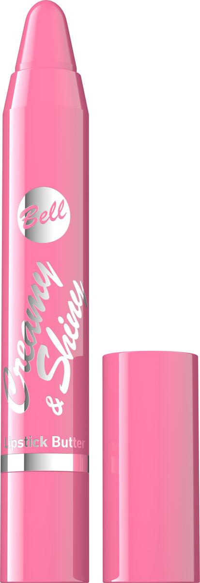 Bell Помада-карандаш Кремовая Creamy&shiny Lipstik Butter 4 гр