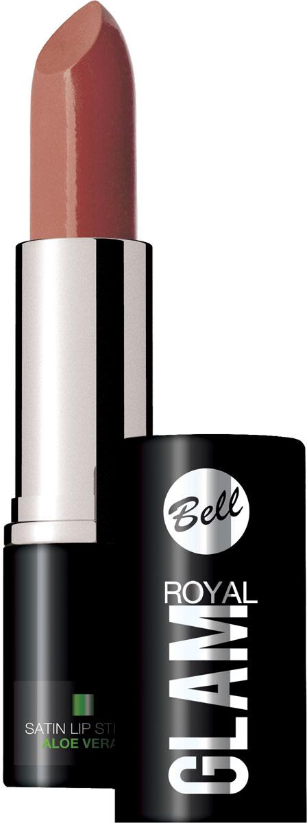 Bell Помада для губ Royal Glam Satin Lipstick Тон 70, 4,2 грBpomRG070Благодаря специально разработанной формуле, губная помада Royal Glam обладает насыщенным и стойким цветом. Коллекция изысканных оттенков губной помады сделает Ваш образ неотразимым. Питательные и регенерирующие компоненты алоэ деликатно ухаживают за губами.