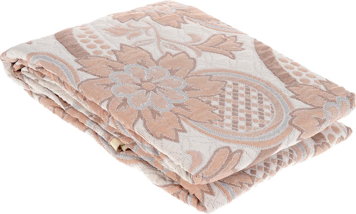 Покрывало Arya Tay-Pen, цвет: светло-серый, коричневый, 240 х 240 см. F0000797_рис. 1F0000797_рис. 1Покрывало Arya Tay-Pen прекрасно оформит интерьер спальни или гостиной. Изделие изготовлено из 100 полиэстера. Жаккардовые покрывала уникальны, так как они практичны и универсальны в использовании. Жаккардовые ткани, хорошо сохраняют окраску, слабо подвержены влиянию перепадов температур. Своеобразный рельефный рисунок, который получается в результате сложного переплетения на плотной ткани, напоминает гобелен. Изделие долговечно, надежно и легко стирается. Покрывало Arya Tay-Pen не только подарит тепло, но и гармонично впишется в интерьер вашего дома.
