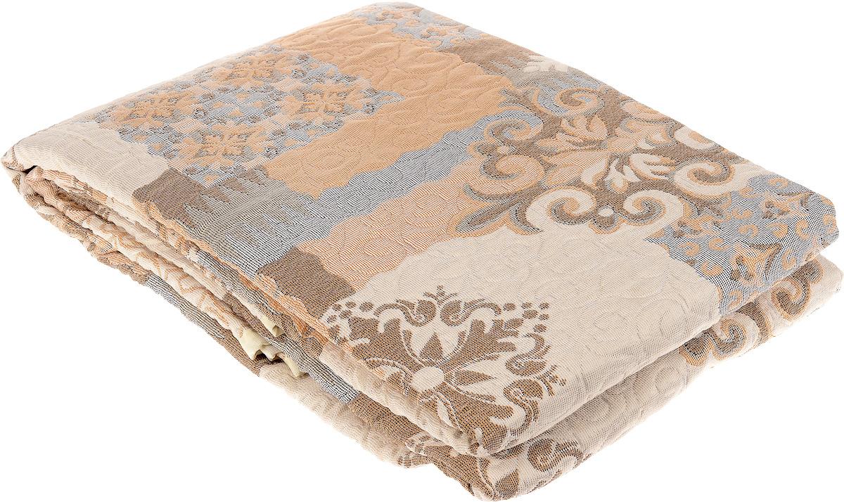 Покрывало Arya Tay-Pen, цвет: коричневый, бежевый, 240 х 240 см. F0000797F0000797_рис. 3Покрывало Arya Tay-Pen прекрасно оформит интерьер спальни или гостиной. Изделие изготовлено из 100 полиэстера. Жаккардовые покрывала уникальны, так как они практичны и универсальны в использовании. Жаккардовые ткани, хорошо сохраняют окраску, слабо подвержены влиянию перепадов температур. Своеобразный рельефный рисунок, который получается в результате сложного переплетения на плотной ткани, напоминает гобелен. Изделие долговечно, надежно и легко стирается. Покрывало Arya Tay-Pen не только подарит тепло, но и гармонично впишется в интерьер вашего дома.