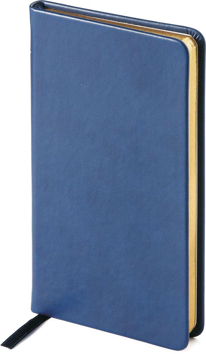 Bruno Visconti Еженедельник А6 MEGAPOLIS VELVET цвет синий