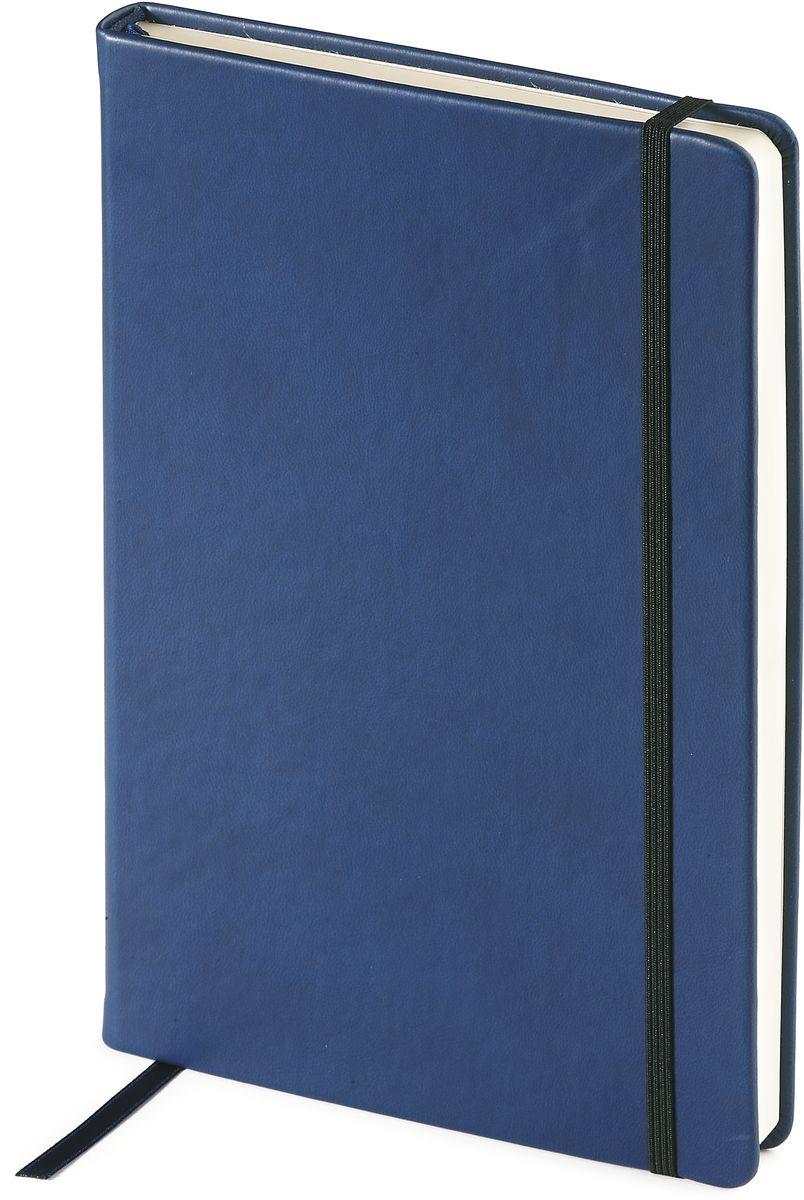 Bruno Visconti Ежедневник Megapolis Velvet недатированный 160 листов цвет темно-синий