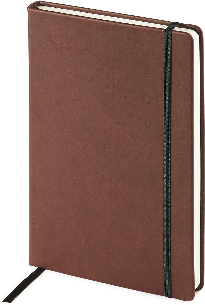 Bruno Visconti Ежедневник А5 MEGAPOLIS VELVET цвет коричневый