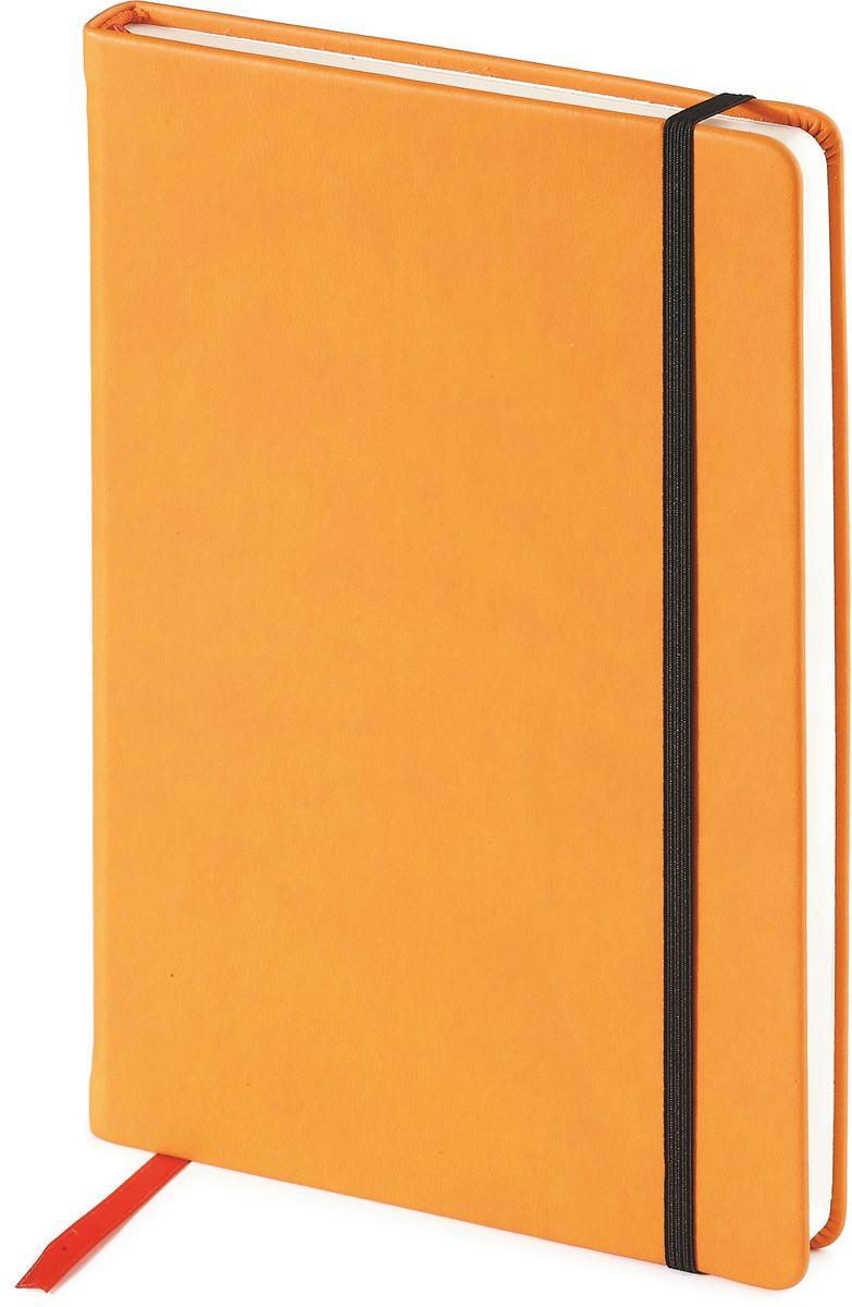 Bruno Visconti Ежедневник Megapolis Velvet недатированный 160 листов цвет оранжевый