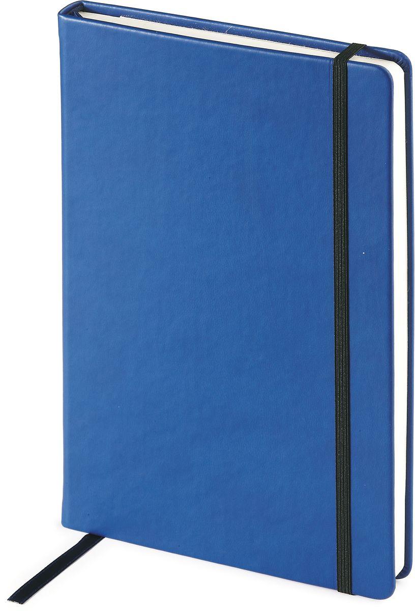 Bruno Visconti Ежедневник Megapolis Velvet недатированный 160 листов цвет синий