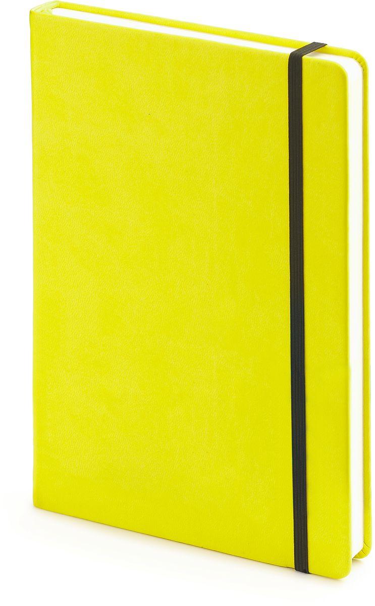 Bruno Visconti Ежедневник А5 MEGAPOLIS VELVET цвет желтый