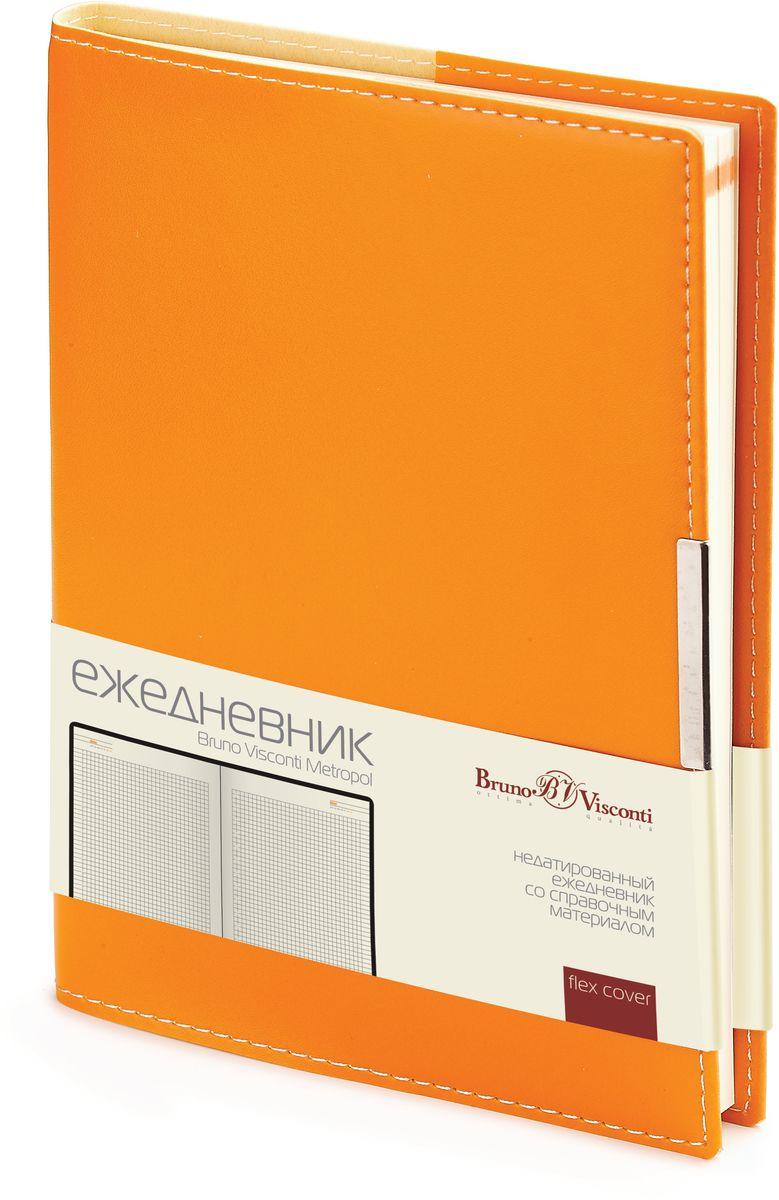 Bruno Visconti Ежедневник А5 METROPOL цвет оранжевый