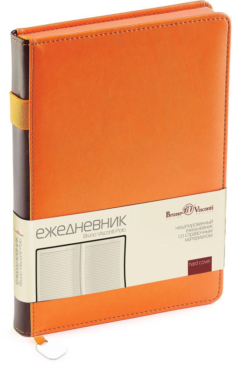 Bruno Visconti Ежедневник A5 POLO цвет оранжевый