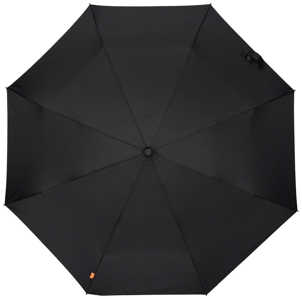 Зонт мужской Эврика Кастет, механика, 2 сложения, цвет: черный, золотой. 9620296202Оригинальный мужской зонт Эврика станет отличным подарком для вашего друга. Зонт состоит из восьми спиц и стержня, изготовленных из металла. Купол выполнен из качественного нейлона, который не пропускает воду. Изделие имеет механический способ сложения: и купол, и стержень открываются и закрываются вручную до характерного щелчка. Ручка, изготовленная из пластика, выполнена в виде кастета. К зонту прилагается чехол, который закрывается на кнопку. Этот зонт вызовет восторг не только у вас, но и у окружающих.