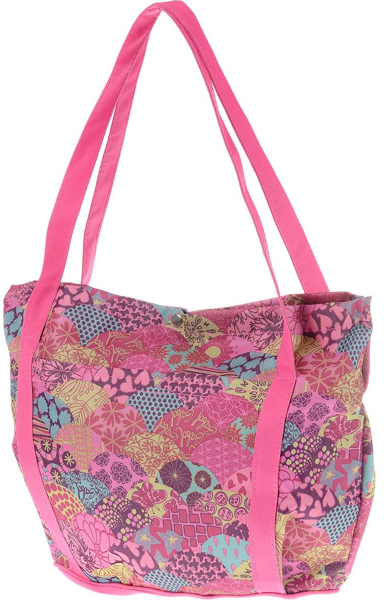 Сумка-переноска Elite Valley, цвет: розовый, фиолетовый, бордовый, 33 х 14,5 х 33 смС-36Сумка-переноска Elite Valley для собак мелких пород и кошек отлично подойдет для комфортной транспортировки. На переноске с двух сторон находятся карманы, закрепленные на липучке. Внутри сумки находится косметичка, прикрепленная к ремешку с металлическим карабином. Она подойдет для хранения различных аксессуаров как хозяйки, так и питомца. Сумка закрывается на металлическую клепку и оснащена двумя прочными ручками. Такая яркая и стильная сумка-переноска обязательно понравится вам и вашему питомцу.