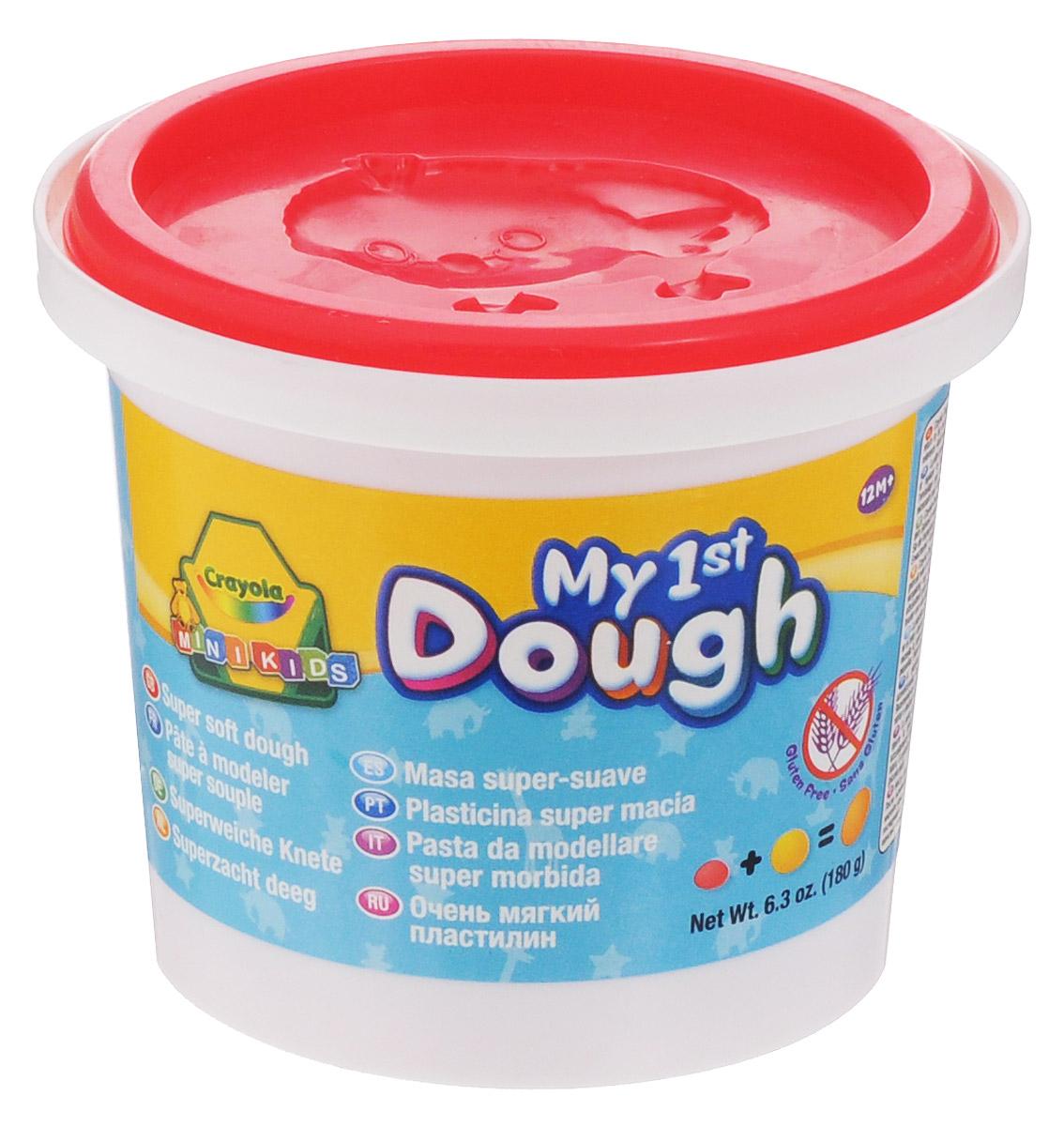 Crayola Масса для лепки My 1st Dough Цыпленок цвет коралловый