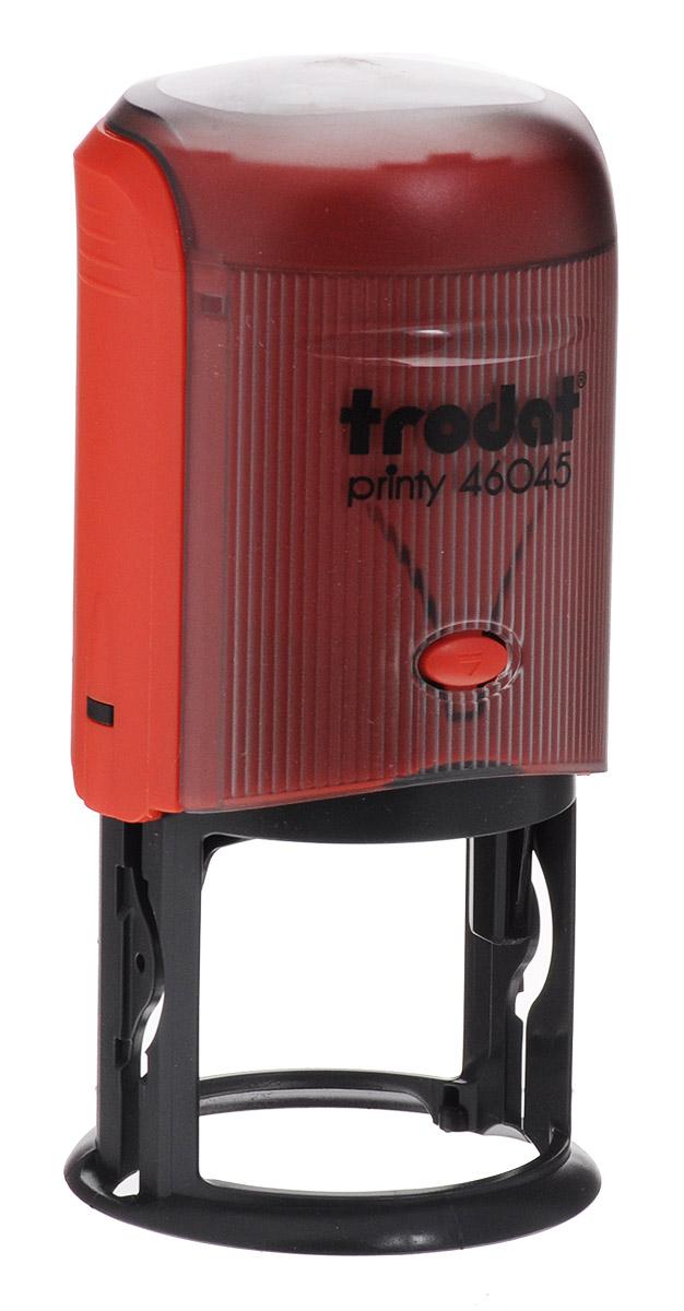 Trodat Оснастка для печати автоматическая Printy цвет красный 45 мм