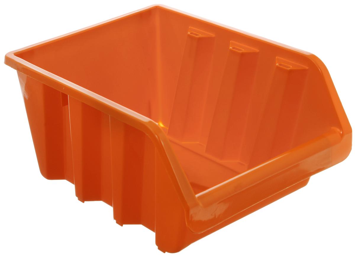 Лоток для метизов Blocker, цвет: оранжевый, 24,5 х 17 х 12,5 смПЦ3741ОРЛоток Blocker, выполненный из высококачественного пластика, предназначен для хранения крепежа и мелкого инструмента. Имеется возможность соединения нескольких лотков одинакового размера в единый горизонтальный блок.