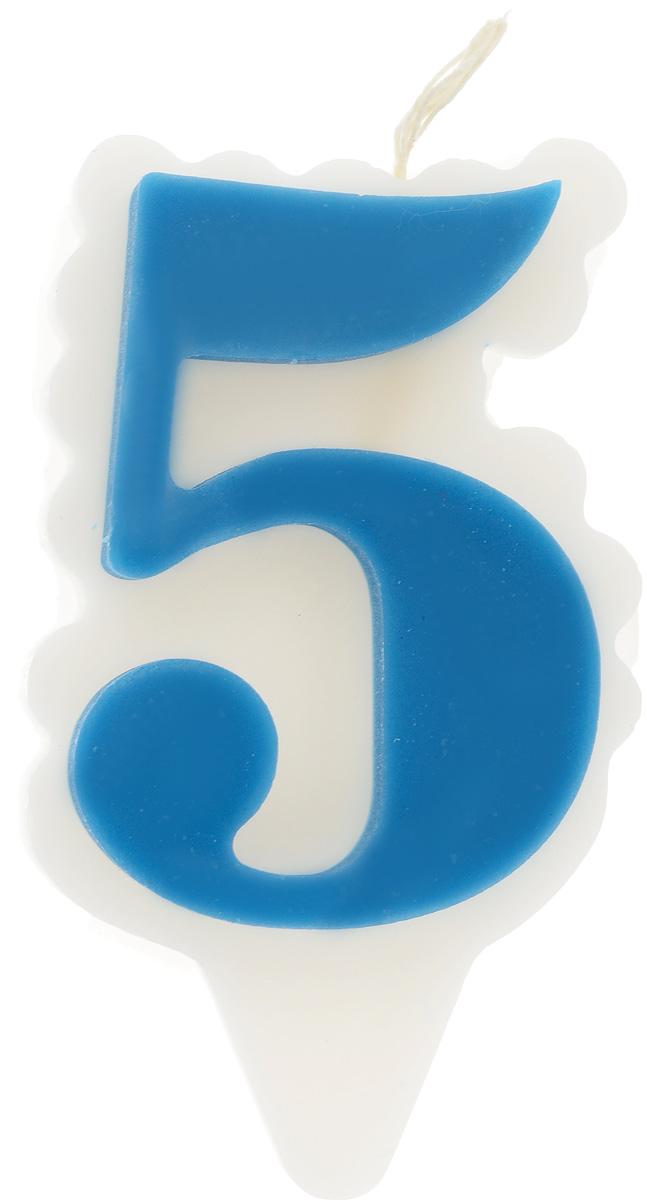 Свеча-цифра Принт Торг Облако. Цифра 5, цвет: синий, белый05.105.01Свеча-цифра для торта Принт Торг Облако. Цифра 5 изготовлена из высококачественного пищевого парафина. Такая свеча станет отличным решением для декорирования торта к празднику. Ее можно комбинировать с другими цифрами. Изделие хорошо и долго горит. С этой свечой ваш праздник станет еще удивительнее и веселее. Высота свечи (без учета фитиля): 8,5 см.