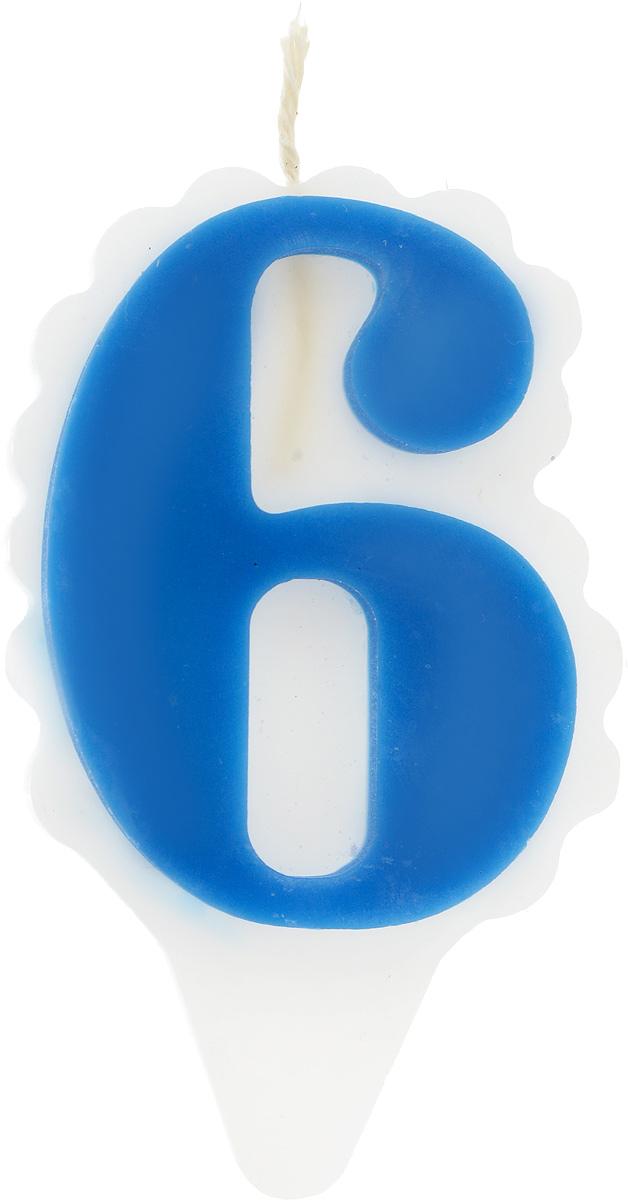 Свеча-цифра Принт Торг Облако. Цифра 6, цвет: синий, белый05.106.01Свеча-цифра для торта Принт Торг Облако. Цифра 6 изготовлена из высококачественного пищевого парафина. Такая свеча станет отличным решением для декорирования торта к празднику. Ее можно комбинировать с другими цифрами. Изделие хорошо и долго горит. С этой свечой ваш праздник станет еще удивительнее и веселее. Высота свечи (без учета фитиля): 8,5 см.