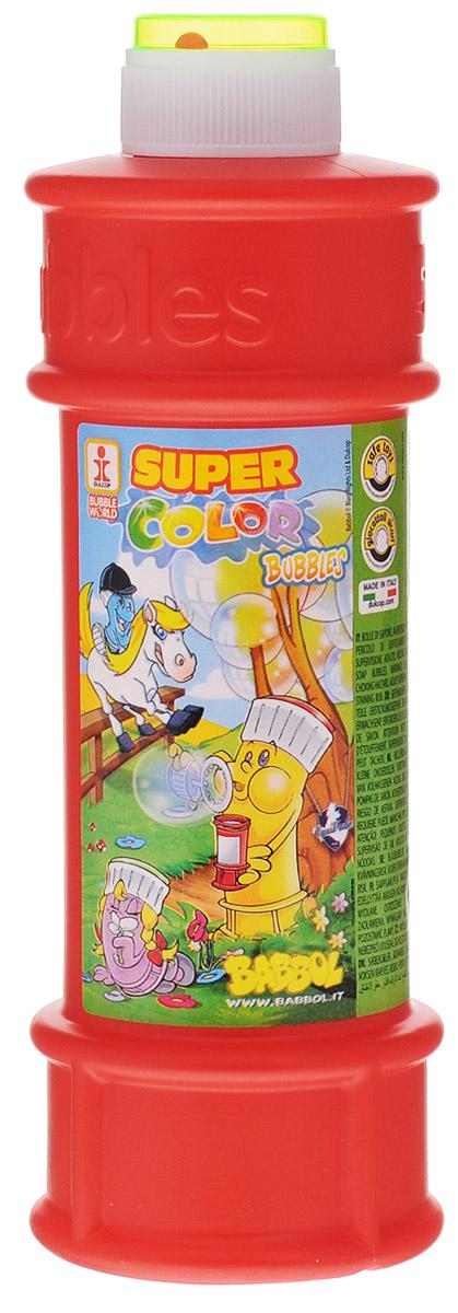 Babbol Мыльные пузыри Super Color Bubbles цвет красный 500 мл1504-0009_красныйМыльные пузыри Babbol Super Color Bubbles станут отличным развлечением на любой праздник! Парящие в воздухе, большие и маленькие, блестящие мыльные пузыри всегда привлекают к себе внимание не только детишек, но и взрослых. Смеющиеся ребята с удовольствием забавляются и поднимают настроение всем окружающим, создавая неповторимую веселую атмосферу солнечного радостного дня. В крышку встроена игрушка-лабиринт с шариком.