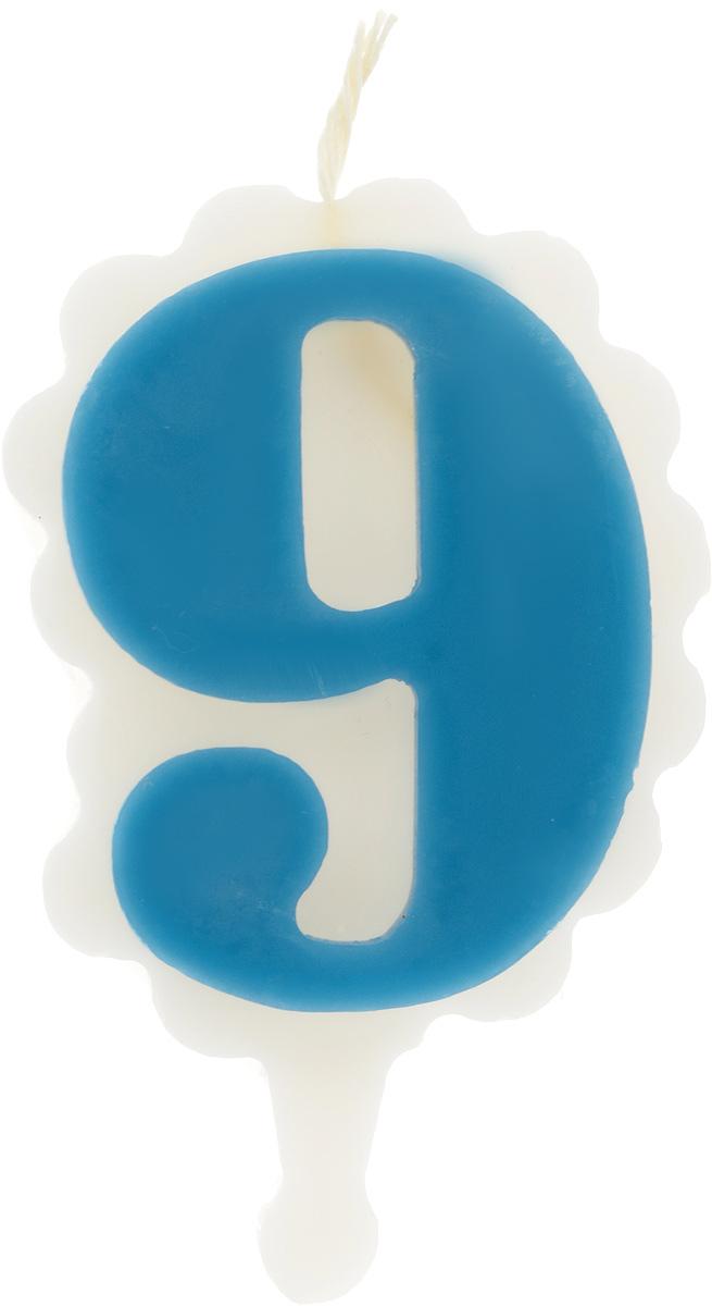 Свеча-цифра Принт Торг Облако. Цифра 9, цвет: синий, белый05.109.01Свеча-цифра для торта Принт Торг Облако. Цифра 9 изготовлена из высококачественного пищевого парафина. Такая свеча станет отличным решением для декорирования торта к празднику. Ее можно комбинировать с другими цифрами. Изделие хорошо и долго горит. С этой свечой ваш праздник станет еще удивительнее и веселее. Высота свечи (без учета фитиля): 8,5 см.