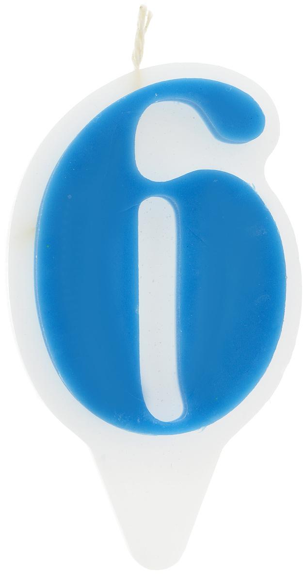 Свеча-цифра Принт Торг Гармония. Цифра 6, цвет: синий, белый05.206.01Свеча-цифра для торта Принт Торг Гармония. Цифра 6 изготовлена из высококачественного пищевого парафина. Такая свеча станет отличным решением для декорирования торта к празднику. Ее можно комбинировать с другими цифрами. Изделие хорошо и долго горит. С этой свечой ваш праздник станет еще удивительнее и веселее. Высота свечи (без учета фитиля): 8,5 см.