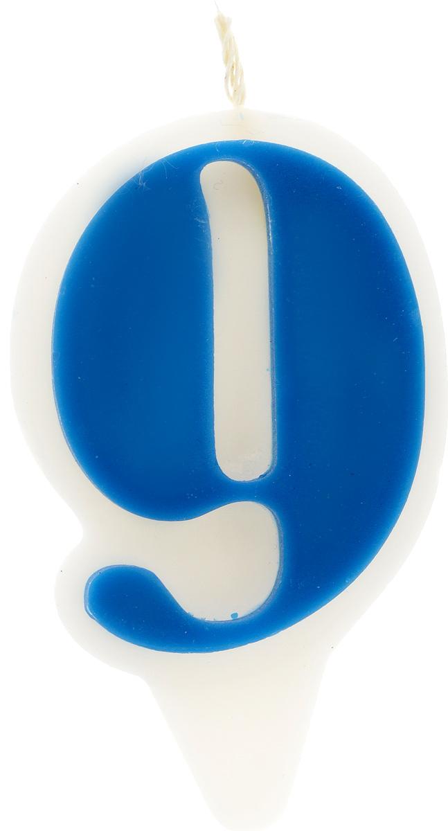 Свеча-цифра Принт Торг Гармония. Цифра 9, цвет: синий, белый05.209.01Свеча-цифра для торта Принт Торг Гармония. Цифра 9 изготовлена из высококачественного пищевого парафина. Такая свеча станет отличным решением для декорирования торта к празднику. Ее можно комбинировать с другими цифрами. Изделие хорошо и долго горит. С этой свечой ваш праздник станет еще удивительнее и веселее. Высота свечи (без учета фитиля): 8,5 см.