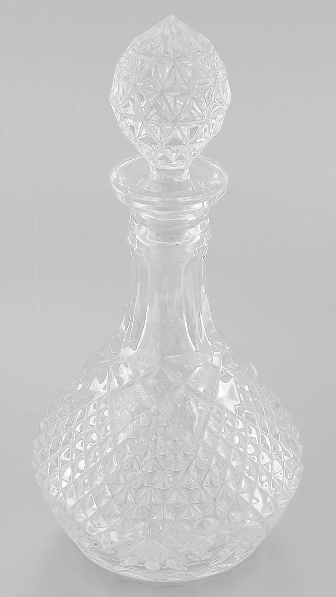 Графин Crystal Bohemia, 750 мл990/40700/1/02000/075-109Графин Crystal Bohemia выполнен из прочного высококачественного хрусталя с содержанием оксида свинца и декорирован рельефом. Он излучает приятный блеск и издает мелодичный звон. Графин сочетает в себе изысканный дизайн с максимальной функциональностью. Он прекрасно впишется в интерьер вашей кухни и станет достойным дополнением к кухонному инвентарю. Графин не только украсит ваш кухонный стол и подчеркнет прекрасный вкус хозяйки, но и станет отличным подарком. Высота (без учета крышки): 21 см. Диаметр по верхнему краю: 6 см. Диаметр основания: 10 см.