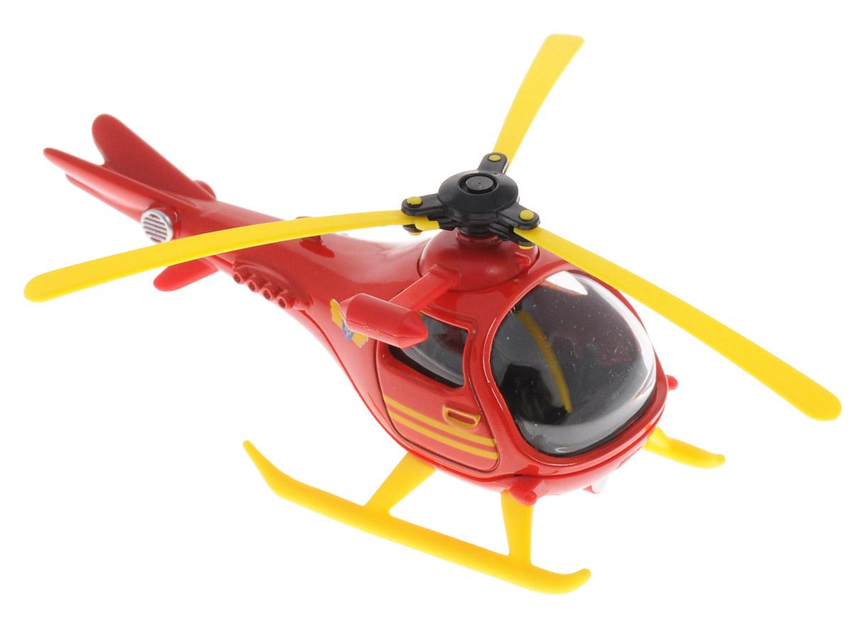 Dickie Toys Вертолет Wallaby 13099625_вертолетВертолет Dickie Toys Wallaby 1 изготовлен по мотивам популярного мультфильма Пожарный Сэм. Wallaby 1 - это спасательный вертолет, который появился в 5 серии мультфильма. Игрушка доставит огромное удовольствие поклонникам этого мультфильма. Вертолет из мультфильма Пожарный Сэм очень понравится вашему малышу и поможет развить у него координацию, фантазию и воображение. Рекомендуемый возраст от 3-х лет.