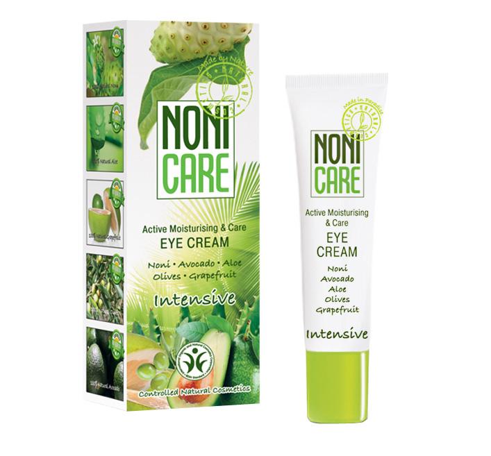 Nonicare Увлажняющий крем для век Intensive - Eye Cream 15 мл4260254460074Ультралегкая формула крема из сока фрукта Нони, алое вера, масла оливы, грейпфрута и авокадо мгновенно впитывается и дарит потрясающее ощущение комфорта, тонуса и увлажненности. Улучшает микроциркуляцию и лимфодренаж, быстро устраняет следы усталости, темные круги и отеки под глазами. Не провоцирует ночных отеков. Предупреждает появление пигментации. Крем успокаивает кожу и придает ей эластичность, устраняет покраснения. Снимает напряжение и признаки усталости. Масло авокадо и оливы удерживают влагу, питают кожу и восстанавливают ее эластичность, устраняют сухость, покраснения и раздражения. Экстракты грейпфрута и цветков горького апельсина оказывают антиоксидантное действие, детоксицируют клетки кожи, предупреждают появление пигментации, темных кругов и отеков под глазами, улучшают эластичность кожи. Крем борется с мимическими морщинками – «гусиными лапками» и предотвращает их появление. Является идеальной основой под макияж. Рекомендован с 25 лет в качестве основного ухода, с 18...