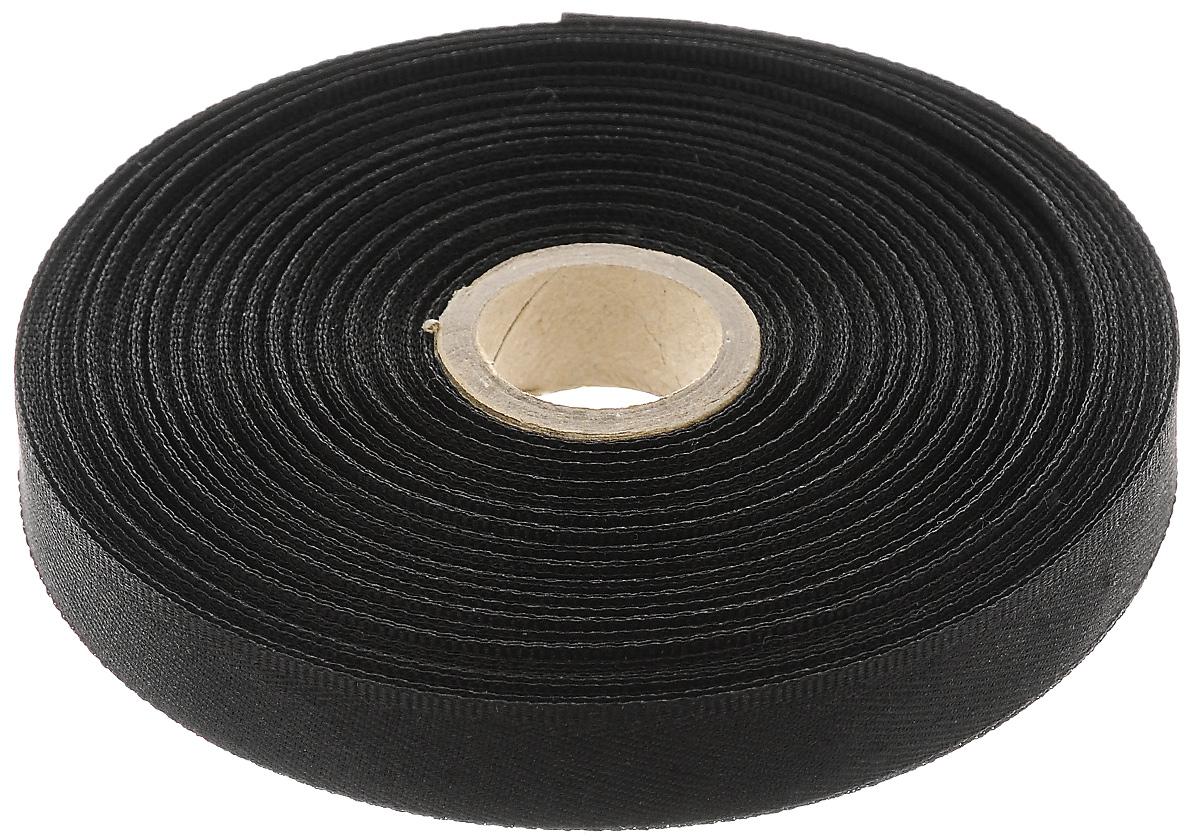 Тесьма для брюк Prym, цвет: черный, ширина 15 мм, длина 30 м313094Тесьма для брюк Prym - это неэластичная лента, выполненная из 100% полиэстера. Предназначена для обработки и укорачивания низа штанин. В основном используется для классических мужских брюк. Тесьма предохраняет край брюк от быстрого изнашивания, утяжелят брюки, что дает более четкое выравнивание штанины, а также держит форму стрелок по подгибу. Ширина тесьмы: 15 мм. Длина тесьмы: 30 м.