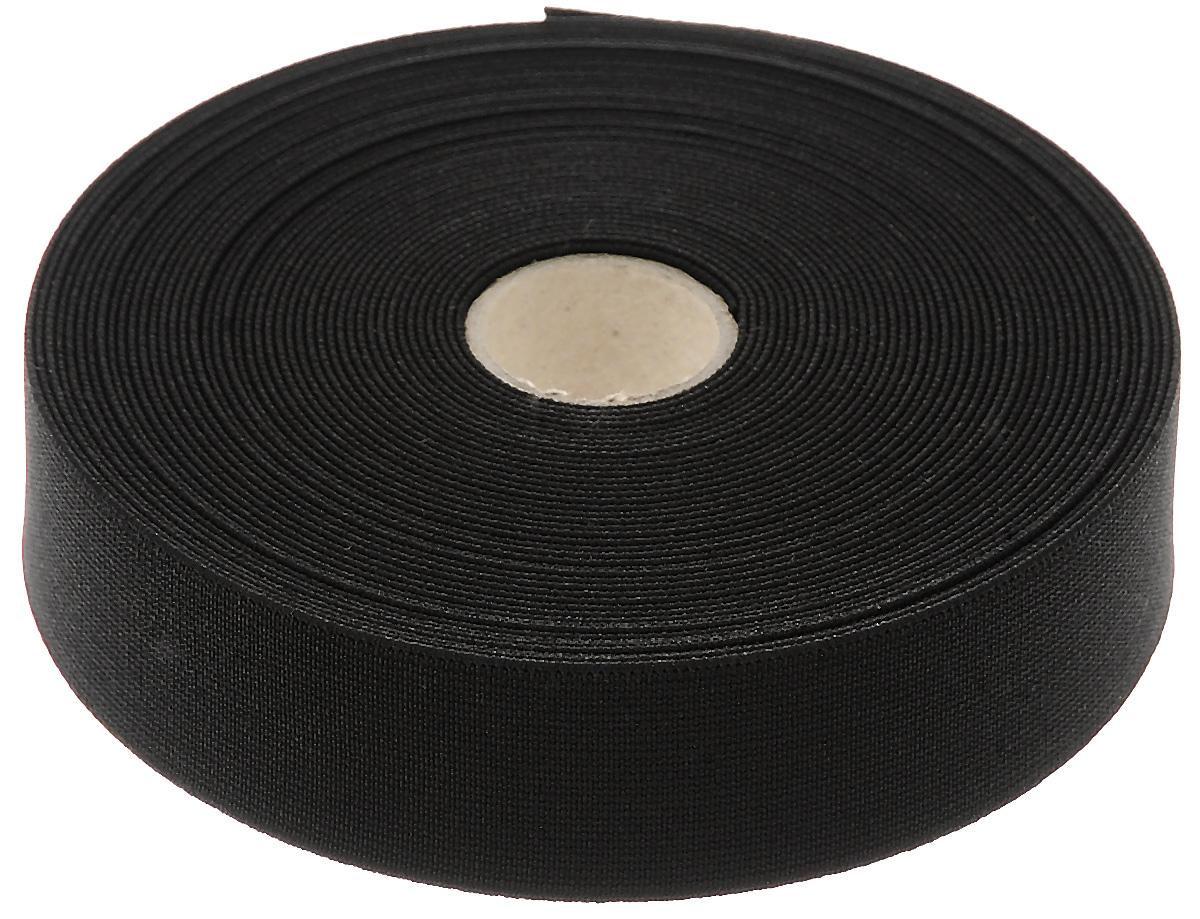 Лента эластичная Prym, прочная, цвет: черный, ширина 3 см, длина 10 м313104Прочная эластичная лента Prym выполнена из полиэстера (72%) и эластомера (28%). Тканые эластичные нити изготавливают из основной и уточной нитей, которые располагаются вдоль и поперек ленты. При растяжении такие ленты сохраняют размер ширины. Длина ленты: 10 м. Ширина ленты: 3 см.