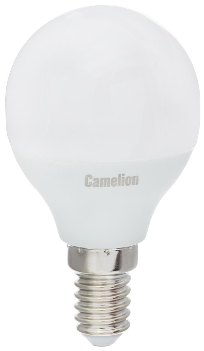 Лампа светодиодная Camelion, теплый свет, цоколь Е14, 3W11373Светодиодная лампа Camelion - это инновационное решение, разработанное на основе новейших светодиодных технологий (LED) для эффективной замены любых видов галогенных или обыкновенных ламп накаливания во всех типах осветительных приборов. Она хорошо подойдет для освещения квартир, гостиниц и ресторанов. Лампа не содержит ртути и других вредных веществ, экологически безопасна и не требует утилизации, не выделяет при работе ультрафиолетовое и инфракрасное излучение. Напряжение: 220-240 В / 50 Гц. Индекс цветопередачи (Ra): 77+. Угол светового пучка: 220°. Использовать при температуре: от -30° до +40°.