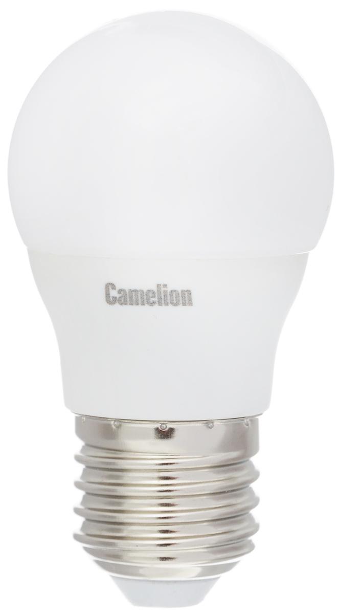 Лампа светодиодная Camelion, теплый свет, цоколь Е27, 3W11374Светодиодная лампа Camelion - это инновационное решение, разработанное на основе новейших светодиодных технологий (LED) для эффективной замены любых видов галогенных или обыкновенных ламп накаливания во всех типах осветительных приборов. Она хорошо подойдет для создания рабочей атмосферы в производственных и общественных зданиях, спортивных и торговых залах, в офисах и учреждениях. Лампа не содержит ртути и других вредных веществ, экологически безопасна и не требует утилизации, не выделяет при работе ультрафиолетовое и инфракрасное излучение. Напряжение: 220-240 В / 50 Гц. Индекс цветопередачи (Ra): 77+. Угол светового пучка: 220°. Использовать при температуре: от -30° до +40°.