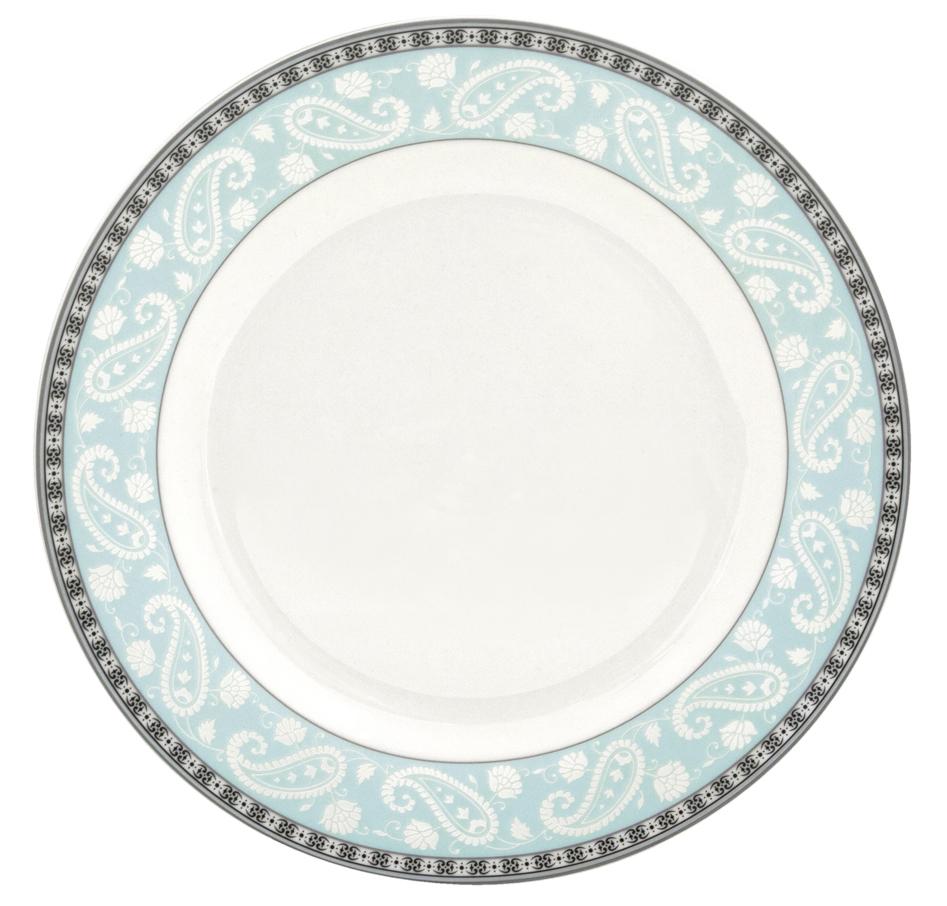 Набор десертных тарелок Esprado Arista Blue, диаметр 20 см, 6 штARB020BE301Тарелка десертная, 20 см, костяной фарфор, Arista Blue, Esprado, ARB020BE302