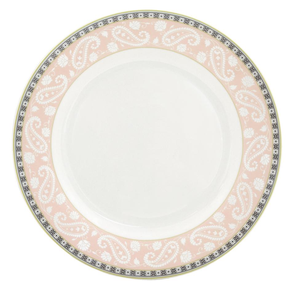 Набор десертных тарелок Esprado Arista Rose, диаметр 20 см, 6 штARR020RE301Набор Esprado Arista Rose состоит из шести десертных тарелок, выполненных из высококачественного костяного фарфора. Над созданием дизайна коллекций посуды из фарфора Esprado работает международная команда высококлассных дизайнеров, не только воплощающих в жизнь все новейшие тренды, но также и придерживающихся многовековых традиций при создании классических коллекций. Посуда из костяного фарфора будет идеальным выбором, для тех, кто предпочитает красивую современную посуду из высококачественного материала, которая отличается высокой прочностью и подходит для ежедневного использования. Посуда из коллекции Arista Rose прекрасно подойдет для уютного домашнего ужина, придав ему легкий оттенок торжественности. Тонкий огуречный узор в сочетании с нежным розовым цветом создает ощущение мягкости и тепла. Можно использовать в микроволновки печи и мыть в посудомоечной машине.