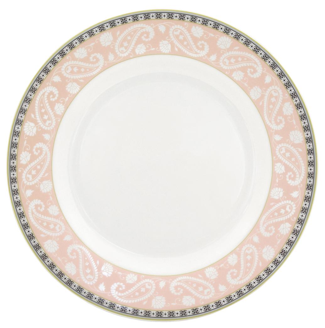 Набор обеденных тарелок Esprado Arista Rose, диаметр 22,5 см, 6 штARR022RE301Набор Esprado Arista Rose состоит из шести обеденных тарелок, выполненных из высококачественного костяного фарфора. Над созданием дизайна коллекций посуды из фарфора Esprado работает международная команда высококлассных дизайнеров, не только воплощающих в жизнь все новейшие тренды, но также и придерживающихся многовековых традиций при создании классических коллекций. Посуда из костяного фарфора будет идеальным выбором, для тех, кто предпочитает красивую современную посуду из высококачественного материала, которая отличается высокой прочностью и подходит для ежедневного использования. Посуда из коллекции Arista Rose прекрасно подойдет для уютного домашнего ужина, придав ему легкий оттенок торжественности. Тонкий огуречный узор в сочетании с нежным розовым цветом создает ощущение мягкости и тепла. Можно использовать в микроволновки печи и мыть в посудомоечной машине.