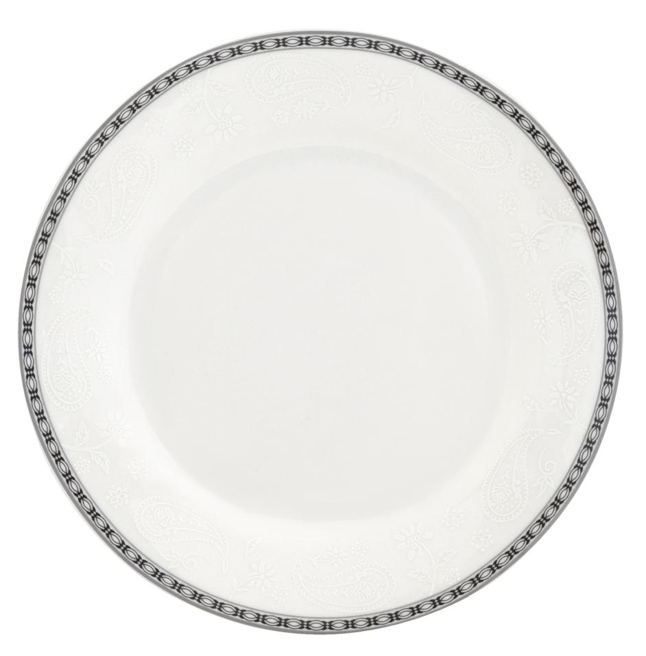 Набор десертных тарелок Esprado Arista White, диаметр 20 см, 6 штARW020WE301Тарелка десертная, 20 см, костяной фарфор, Arista White, Esprado, ARW020WE302