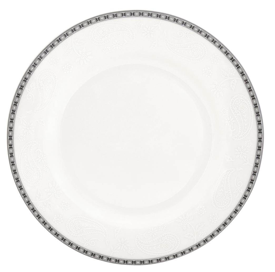 Набор обеденных тарелок Esprado Arista White, диаметр 22,5 см, 6 штARW022WE301Набор Esprado Arista White состоит из шести обеденных тарелок, выполненных из высококачественного костяного фарфора. Над созданием дизайна коллекций посуды из фарфора Esprado работает международная команда высококлассных дизайнеров, не только воплощающих в жизнь все новейшие тренды, но также и придерживающихся многовековых традиций при создании классических коллекций. Посуда из костяного фарфора будет идеальным выбором, для тех, кто предпочитает красивую современную посуду из высококачественного материала, которая отличается высокой прочностью и подходит для ежедневного использования. Столовая посуда Arista White, выполненная в ослепительном белом цвете и дополненная изящным платиновым декором, – идеальный выбор для создания атмосферы аристократического приема за вашим столом. Можно использовать в микроволновки печи и мыть в посудомоечной машине.
