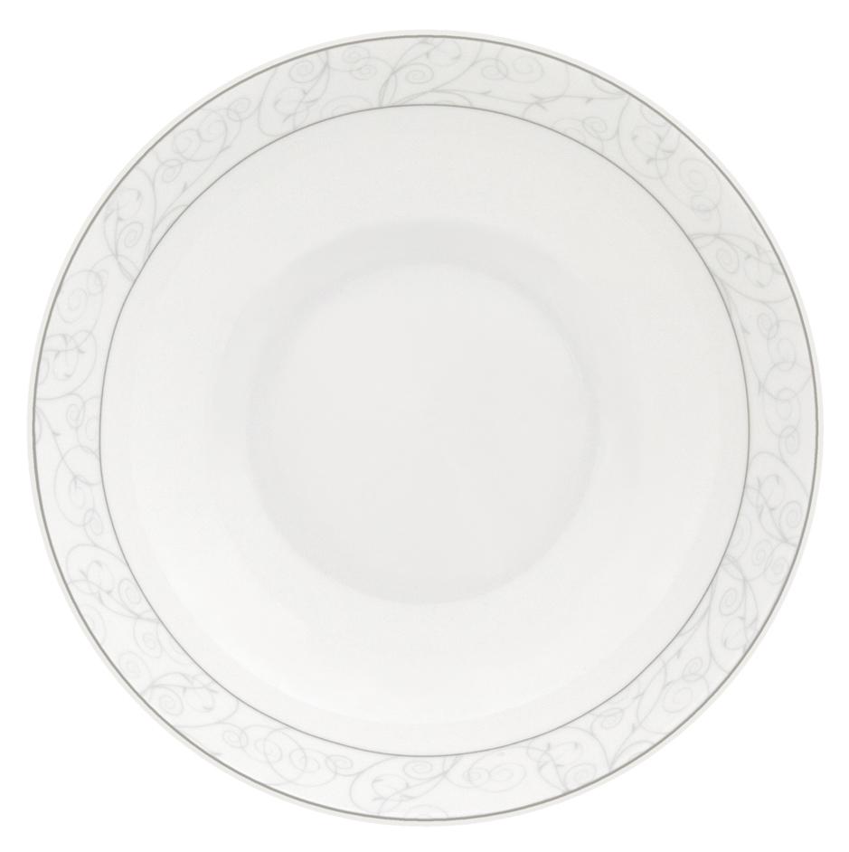 Набор суповых тарелок Esprado Florestina, диаметр 20 см, 6 штFLO020SE301Тарелка суповая, 20 см, костяной фарфор, Florestina, Esprado, FLO020SE302