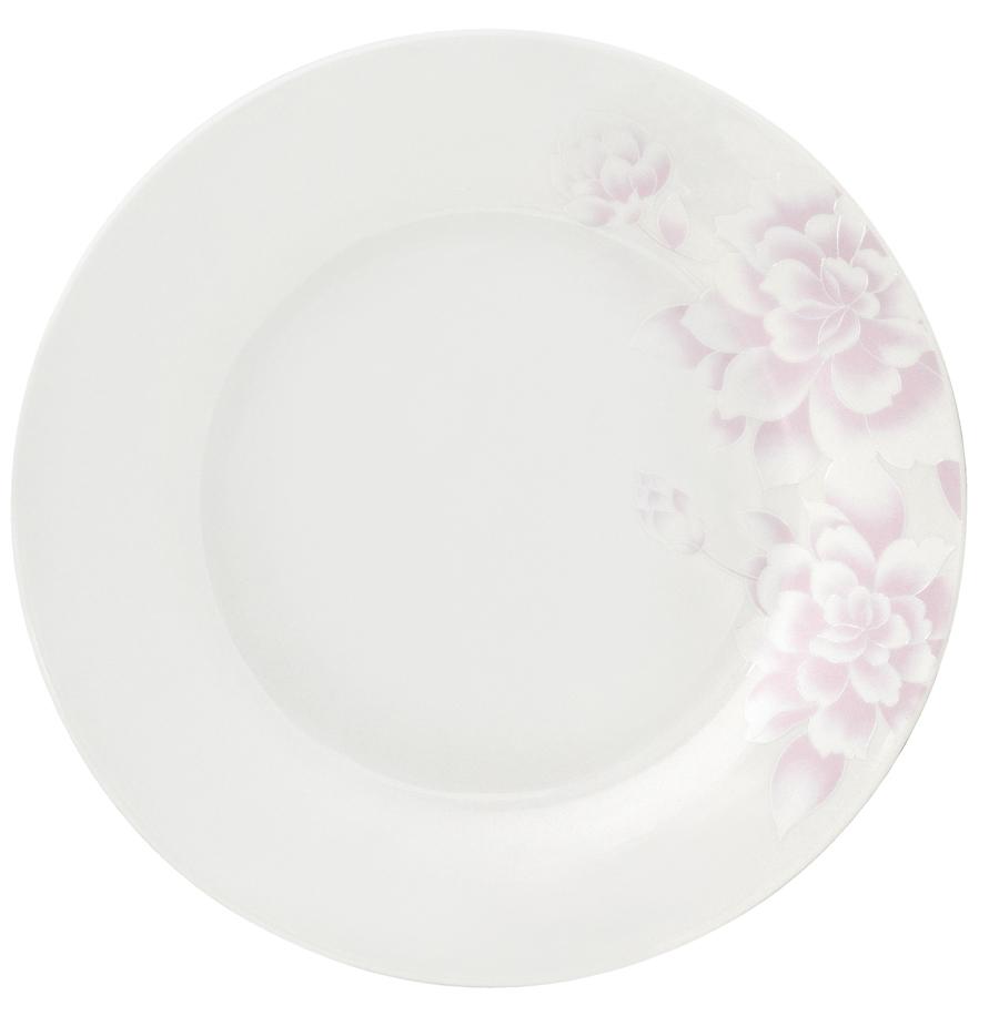 Набор десертных тарелок Esprado Peonies, диаметр 20 см, 6 штPEO020PE301Тарелка десертная, 20 см, костяной фарфор, Peonies, Esprado, PEO020PE302
