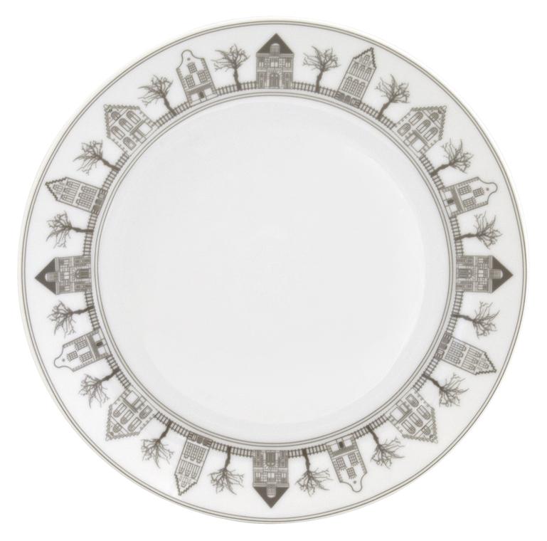 Набор десертных тарелок Esprado Saragossa, диаметр 20,5 см, 6 штSRG021BE301Тарелка десертная, 20,5 см, твердый фарфор, Saragossa, Esprado, SRG021BE302