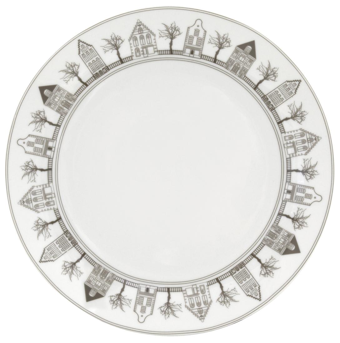 Набор обеденных тарелок Esprado Saragossa, диаметр 24,5 см, 6 штSRG024BE301Тарелка обеденная, 24,5 см, твердый фарфор, Saragossa, Esprado, SRG024BE302