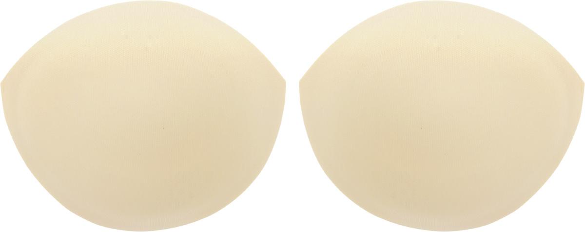 Чашечки для бюстгальтера Hemline, с вкладками, цвет: телесный, чашка А (10-12). Размер S963.S/SKINЧашечки Hemline, изготовленные из полиэстера, предназначены для бюстгальтера и вечерних платьев. Чашечки снабжены специальными вкладками, которые приподнимают грудь. В упаковке 1 пара (2 штуки). Величина чашки бюстгальтера определяется разницей между обхватом груди и обхватом под грудью. Разница для размера чашки А: 10-12 см.