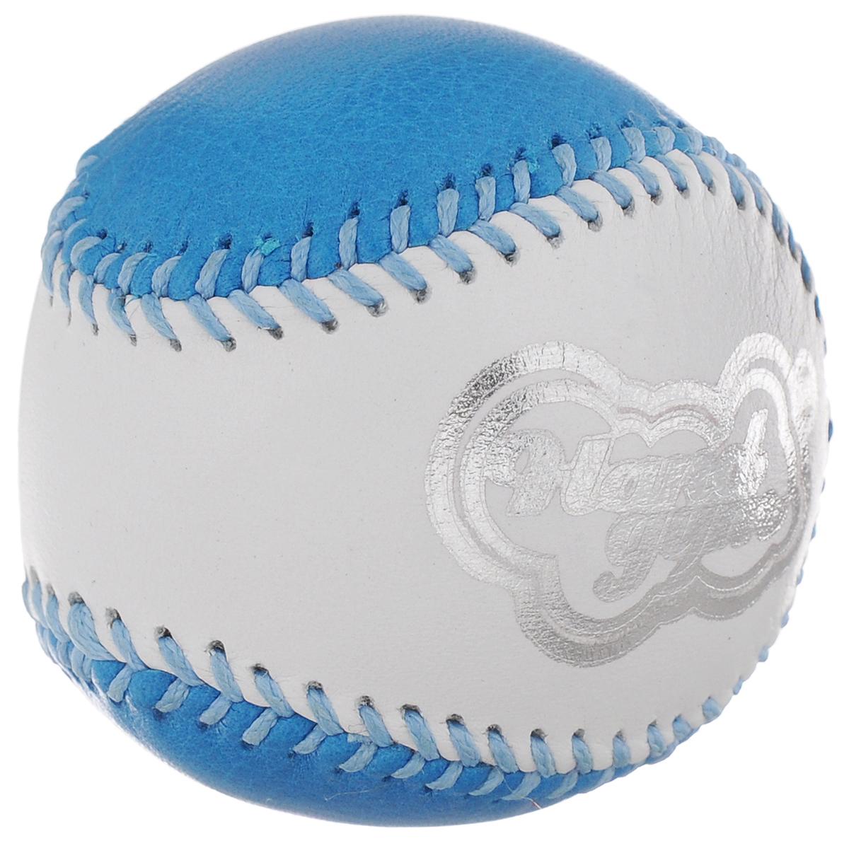 Эспандер кистевой HandGum HandGym, цвет: голубой, белый, диаметр 5 см260_голубой, белыйКистевой эспандер HandGum HandGym - отличный тренажер, который превосходно развивает моторику и силу рук. Эспандер HandGum HandGym выполнен в виде кожаного чехла, внутри которого - жвачка для рук. Эспандер прекрасно подходит для любого возраста, позволяя как эффективно развивать силу самым слабым рукам, так и являясь отличным тренажером даже для профессиональных спортсменов.