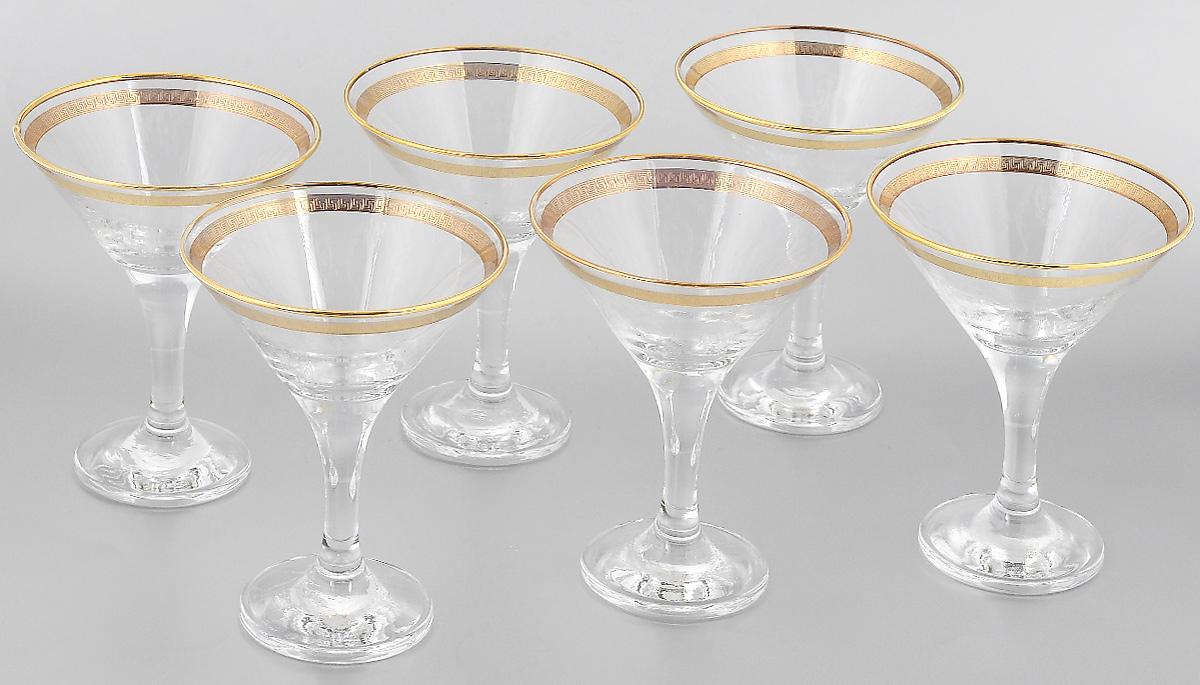 Набор бокалов для мартини Гусь-Хрустальный Каскад, 170 мл, 6 штTL40-410Набор Гусь-Хрустальный Каскад состоит из 6 бокалов, изготовленных из высококачественного стекла. Изделия предназначены для подачи мартини. Такой набор прекрасно дополнит праздничный стол и станет желанным подарком в любом доме. Разрешается мыть в посудомоечной машине. Диаметр бокала (по верхнему краю): 10,5 см. Высота бокала: 13,7 см. Диаметр основания бокала: 6,5 см. Уважаемые клиенты! Обращаем ваше внимание на незначительные изменения в дизайне товара, допускаемые производителем. Поставка осуществляется в зависимости от наличия на складе.