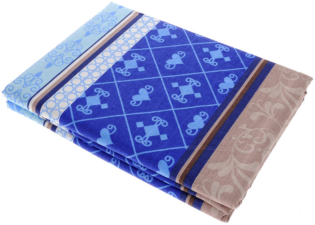 Комплект белья Олеся Летний комплект. Мавританский ажур, 2-спальный, наволочки 70х70, цвет: коричневый, синий2050115956_коричневый, синий, сердцеПостельное белье Олеся Летний комплект. Мавританский ажур, оформленное оригинальным принтом, красиво дополнит интерьер спальни и подарит незабываемое чувство комфорта и уюта во время сна. Комплект состоит из двух простыней и двух наволочек. Комплект выполнен из бязи (100% хлопок). Бязь является одним из основных видов тканей, используемых для изготовления постельного белья. Эта ткань отличается высокой воздухопроницаемостью, мягкостью и нежностью, при этом она очень прочна, устойчива к истиранию и легко гладится. Приятная на ощупь бязь идеально подходит для комфортного и спокойного сна. Благодаря такому комплекту постельного белья вы сможете создать атмосферу уюта и романтики в вашей спальне.