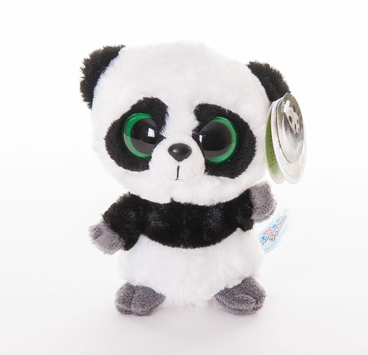 Aurora Мягкая игрушка Панда 12 см12-106Мягкая игрушка - очаровательная панда по имени Ринг-Ринг, один из персонажей доброго и трогательного мультфильма Юху и его друзья. Мультфильм повествует об отважных зверьках, которые отправляются в опасное приключение, чтобы спасти свою страну - Ютопию. У панты мягкая и приятная на ощупь шерстка, симпатичная мордочка и красивые, выразительные глаза. Игрушку удобно брать с собой на прогулку или в детский сад. Мягкая игрушка Aurora Панда изготовлена из качественных и безопасных материалов. Специальные гранулы, используемые при ее набивке, способствуют развитию мелкой моторики рук малыша.
